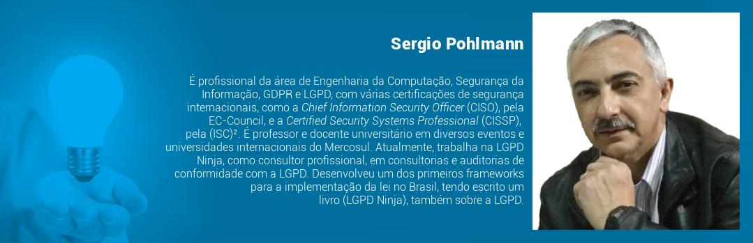 É profissional da área de Engenharia da Computação, Segurança da Informação, GDPR e LGPD, com várias certificações de segurança internacionais, como a Chief Information Security Officer (CISO), pela EC-Council, e a Certified Security Systems Professional (CISSP), pela (ISC)². É professor e docente universitário em diversos eventos e universidades internacionais do Mercosul. Atualmente, trabalha na LGPD Ninja, como consultor profissional, em consultorias e auditorias de conformidade com a LGPD. Desenvolveu um dos primeiros frameworks para a implementação da lei no Brasil, tendo escrito um livro (LGPD Ninja), também sobre a LGPD.