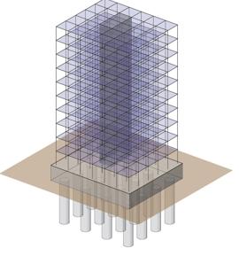 Ilustração da estrutura de um edíficio, para a analogia em relação à Lei Geral de Proteção de Dados Pessoais