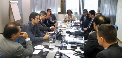 Reunião foi realizada na sede do Serpro, em Brasília