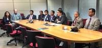 Comitiva de Bangladesh visita o Serpro