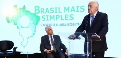 Jorge Rachid e Afif Domingos discursaram na abertura do seminário