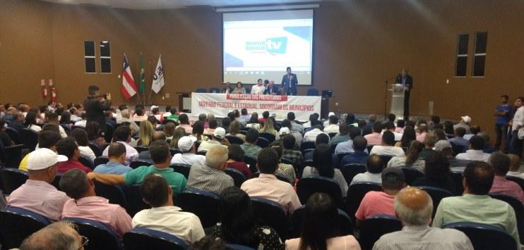 Registro do Diálogo Municipalista realizado em Salvador