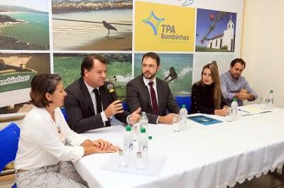Diretor André de Cesero apresentou soluções do Serpro