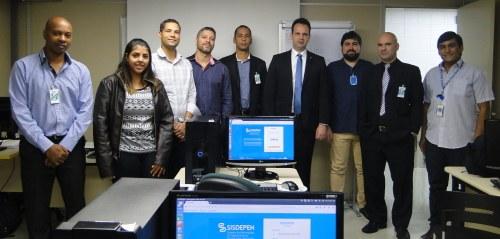 Técnicos participaram do curso em São Paulo