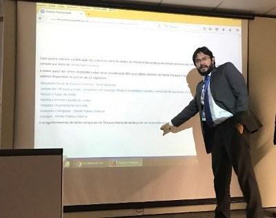 Coordenador-geral de Sistemas e Tecnologia da Informação da STN (Cosis), Lincoln Moreira Junior