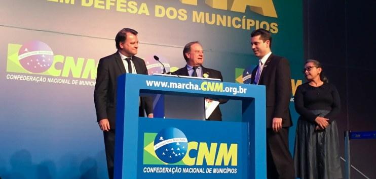Plataforma+Brasil é apresentada no evento de prefeitos