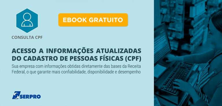 Baixe o e-book Consulta CPF