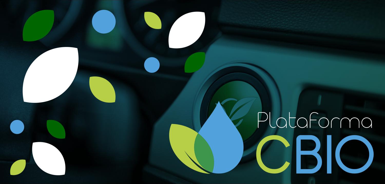 Logomarca da Plataforma CBIO aplicada sobre uma fotografia de ...