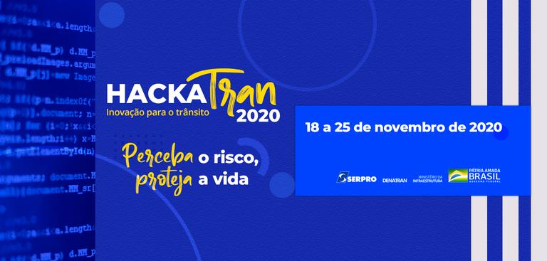 Hackatran será realizado de 18 a 25 de setembro