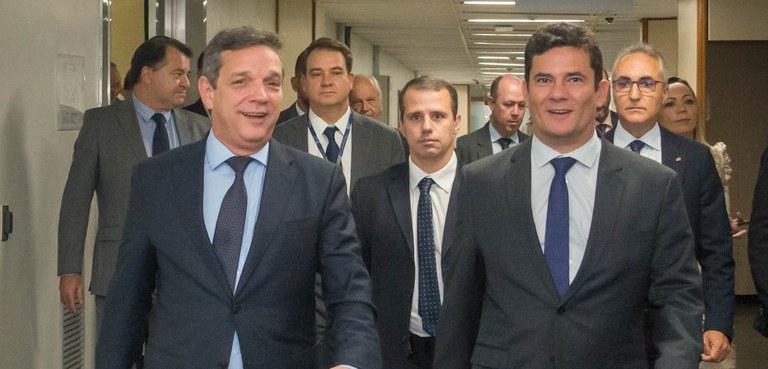 Sérgio Moro visita o Serpro