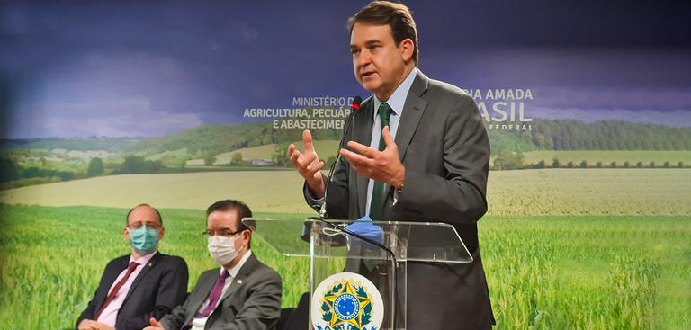 Presidente do Serpro em lançamento da PGT